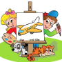 icon Kids Coloring Book for kids