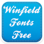 icon Winfield Fonts Free