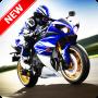 icon Racing Bike Wallpaper