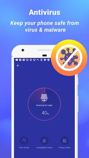 ماجستير الأمن - مكافحة الفيروسات ، VPN ، AppLock ، الداعم