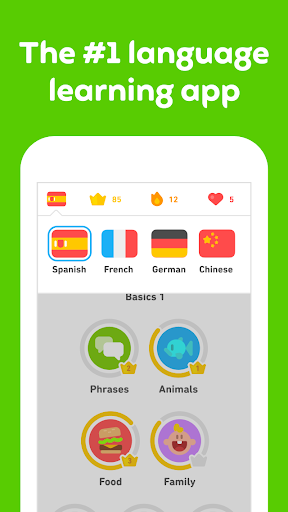 Duolingo: تعلم اللغات مجانًا
